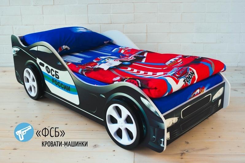 Детская кровать-машина -ФСБ-2