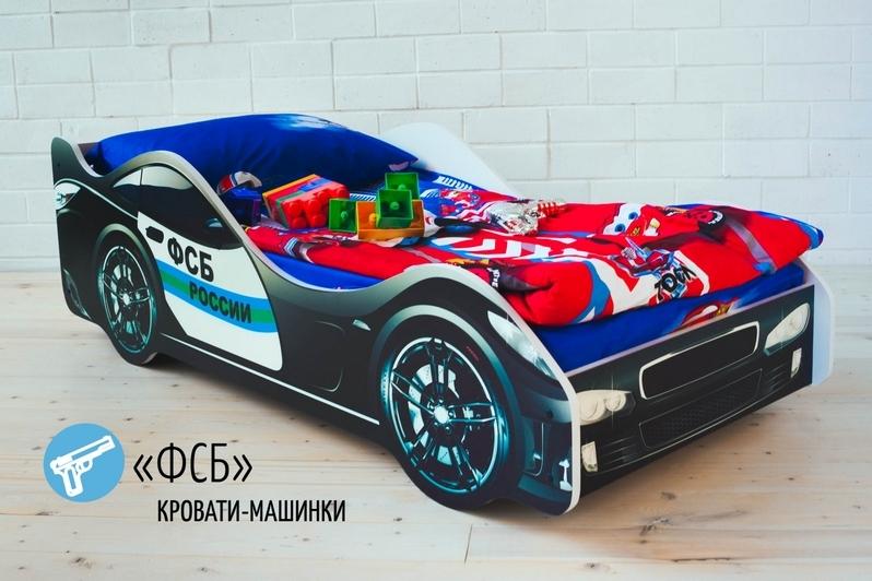 Детская кровать-машина -ФСБ-3