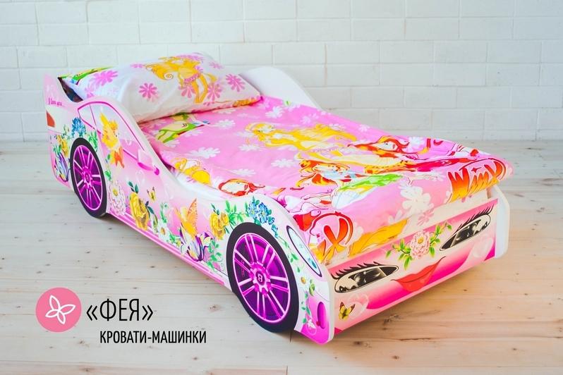 Детская кровать-машина -Фея-3