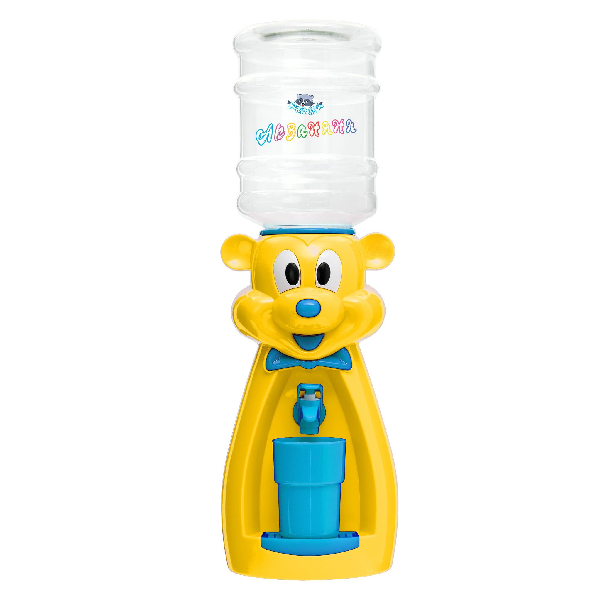 Детский кулер АкваНяня Желтая мышка с голубым