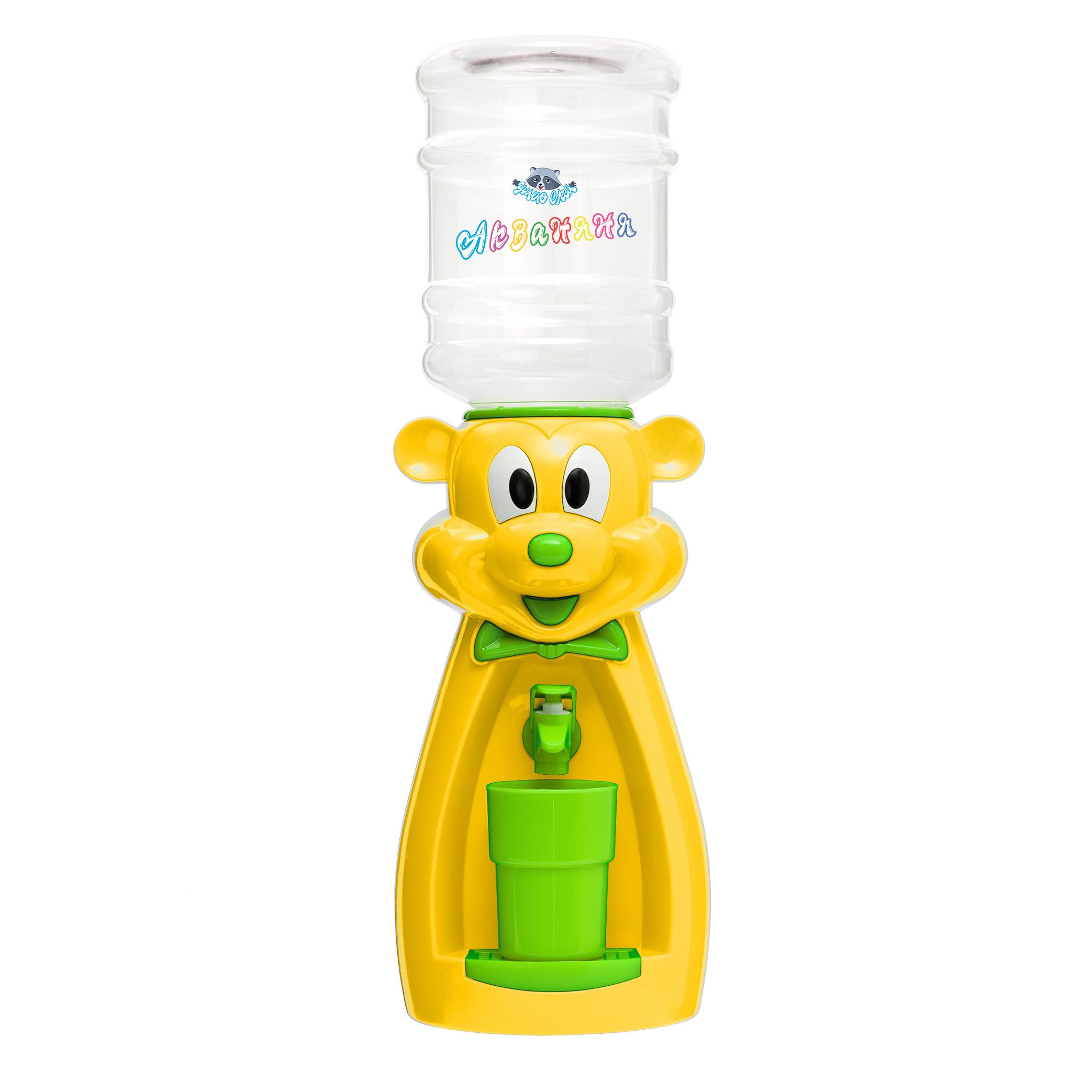 Детский кулер АкваНяня Желтая мышка с садатовым