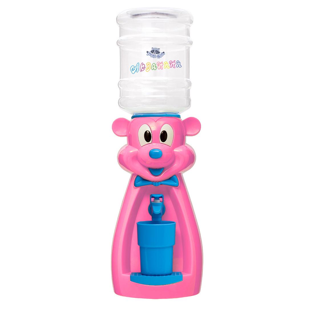 Детский кулер АкваНяня Розовая мышка с голубым