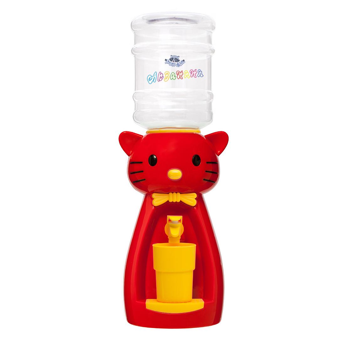 2_1 Детский кулер АкваНяня Красная кошка с желтым