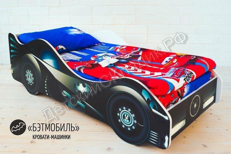 watermarked-Детская кровать-машина -Бэтмобиль-2