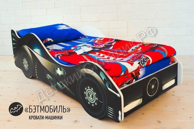 watermarked-Детская кровать-машина -Бэтмобиль-3