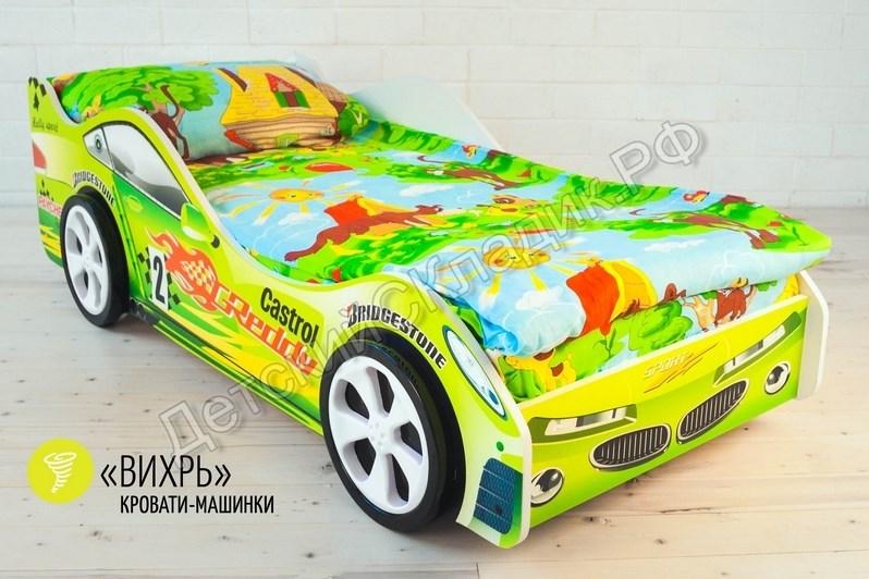 watermarked-Детская кровать-машина -Вихрь-3